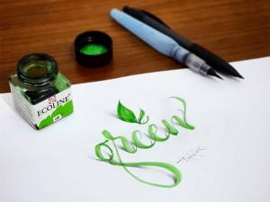 Questa calligrafia 3D ti farà impazzire