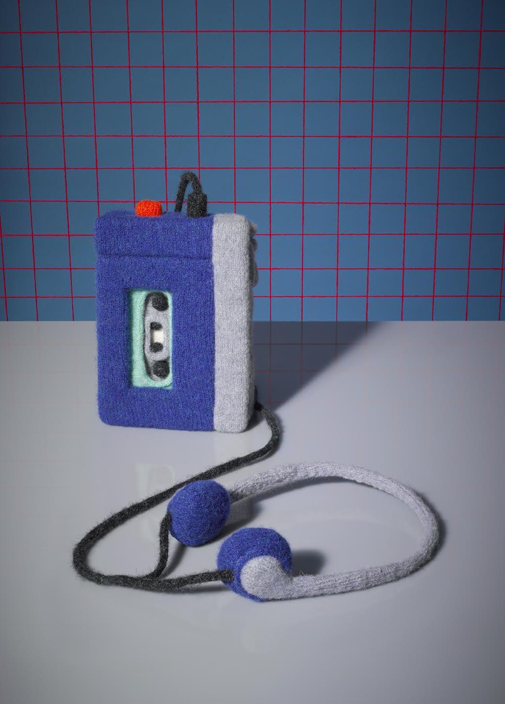 Sony Walkman TPS L2 1979, 100% lana di agnello, fotografata da David Sykes