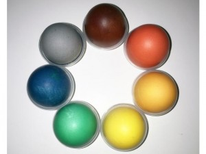 Packaging and printing problems? Coloured eggs can help!